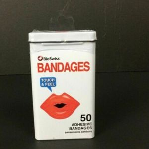 """Kiss My Boo Boo"" - Adhesive Bandages"